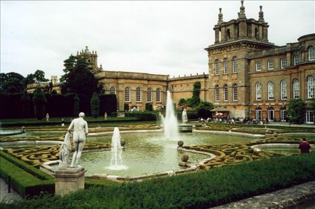 Back of Blenheim Palace