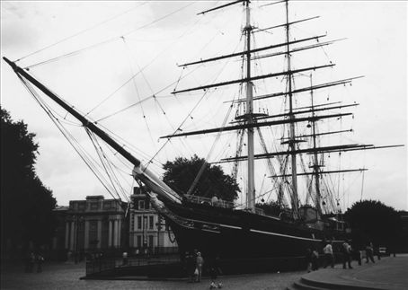 The Cutty Sark, stuck in concrete just 30m from sailing to freedom in the Thames