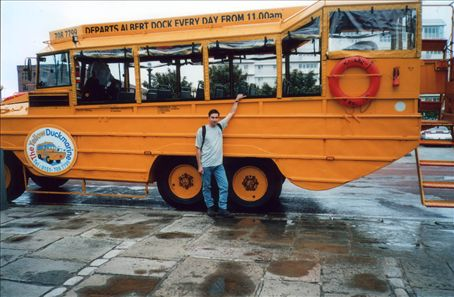 Me & a Dukw in Liverpool