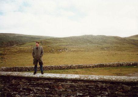 pretending to be an Irish farmer