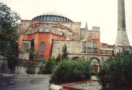 The Ayai Sofia (St Sofia) - Christian church turned Mosque, Istanbul