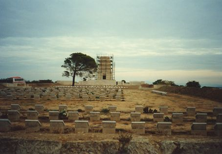 Gallipoli - Lone Pine, where extremely vicious fighting took place over such a tiny area in WWI