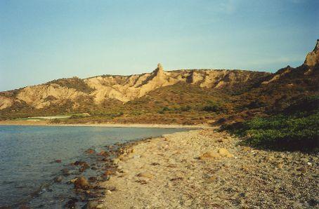 Gallipoli - The Beach at Anzac Cove