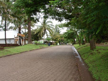 Main street of Hanga Roa looking south