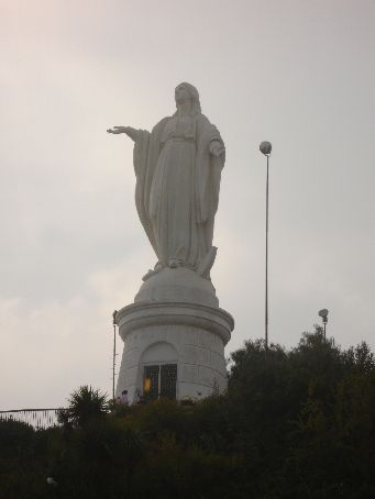 Statue of Madonna (the non-singing one)
