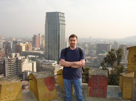 Top of Cerro Santa Lucia, downtown Santiago
