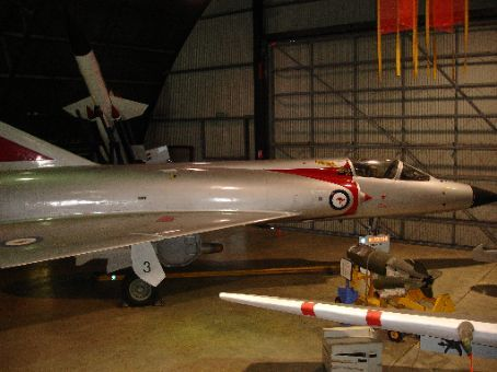 Mirage at Fighter World, Williamtown. The sound of F18's taking off and landing only 200m away gave a very authentic feel to the museum