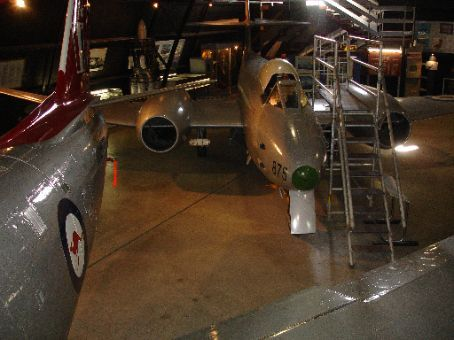 Gloster Meteor at Fighter World, Williamtown