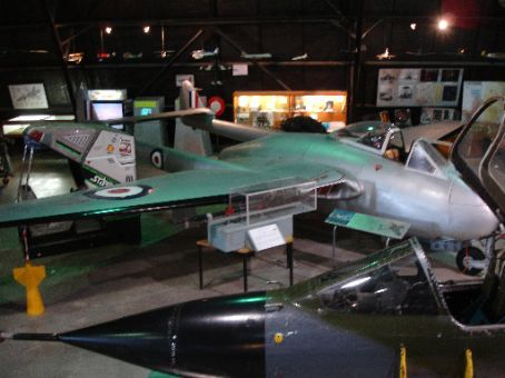 Vampire at Fighter World, Williamtown