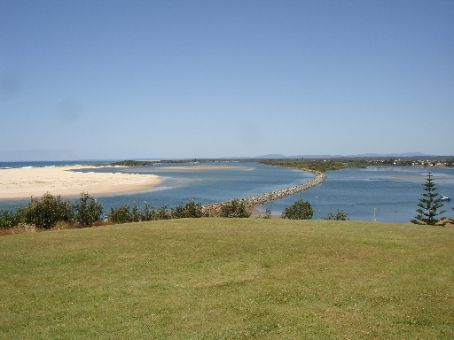 Mouth of the Manning River at Harrington, NSW