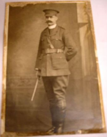 Photo of my great-grandfather we discovered in the Bellingen Museum