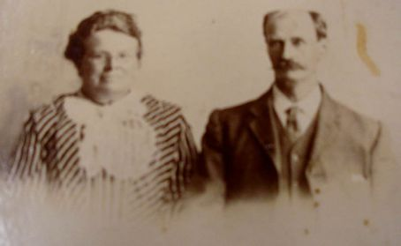 Photo of Tams Great Grandparents we found in the Bellingen Museum