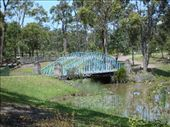 Sad replica of the Sydney Harbour bridge in the old Leyland Brothers World: by stowaway, Views[3460]