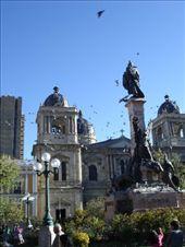 Plaza Murillo in La Paz: by stu_n_anna, Views[109]
