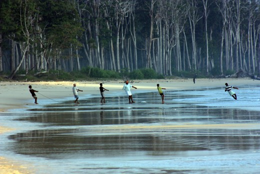 Fishing is the main profession in Andaman