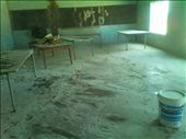 My Classroom: this is one of the classrooms - pre-refurbishment by the AE team. Most of the classrooms did not have furniture - just a table for the teacher and the students learn, write and read from the floor.: by suku, Views[99]