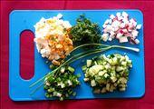 The loose chopped ingredients: by suntosirius, Views[162]