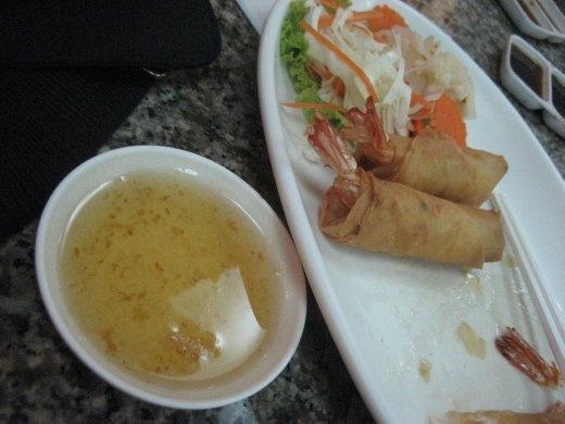 My fave prawn spring rolls.  Oh yeah!!