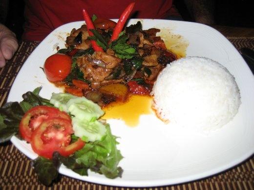 ...and on to Chiang Rai for Basil Pork