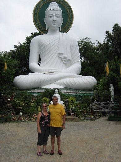 At the White Buddha