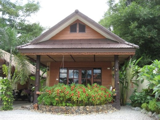 Our bungalow at Homestay-Chiangrai