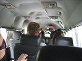 From Kanchanaburi to Ayutthaya by minibus.  Yaayyy!!