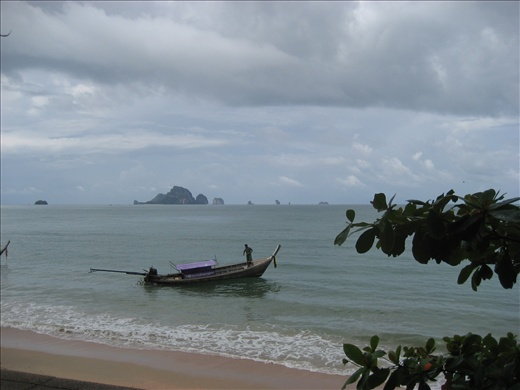 Longtail boat to Railay Beach