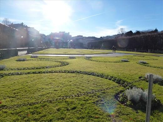 Mirabell Gardens - pretty even in winter