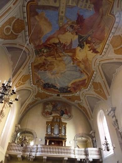 Inside the Servite Church