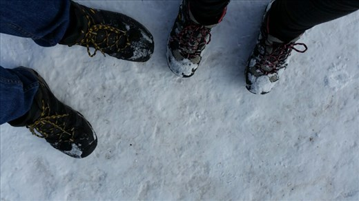 These boots were made for walking!! In the snow! Up a mountain!