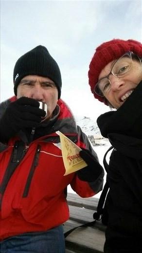 Tea & Toblerone in the snow