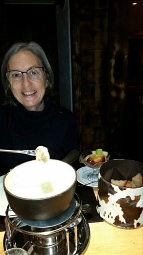 When in Switzerland??? Eat fondue