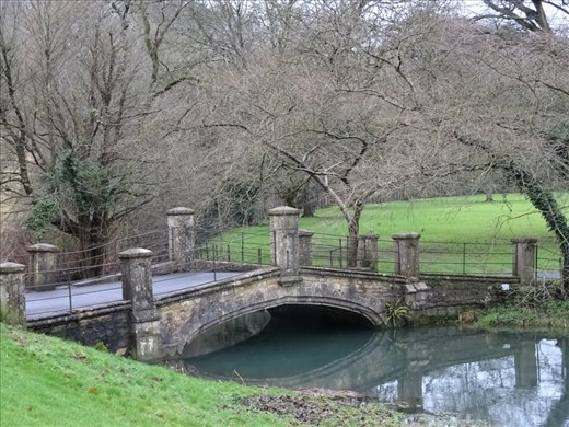 This cute little bridge in Castle Combe was used in the original Dr Dolittle movie.