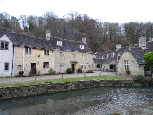 Picture postcard from Castle Combe