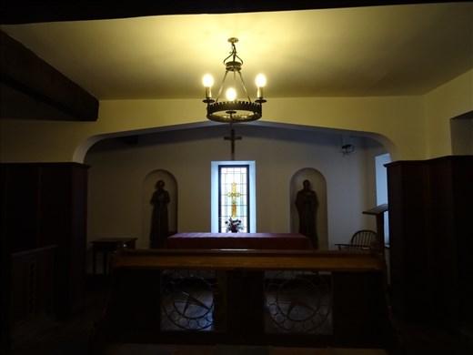 Altar honouring Saint Margaret Clitheroe. The Shambles, York