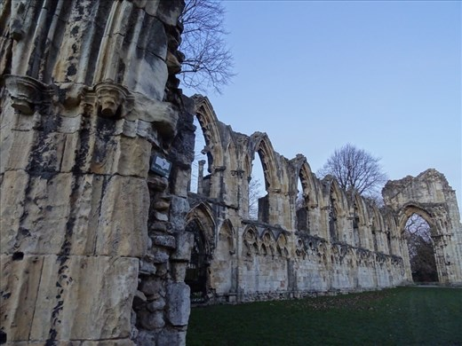 Ruins of a former Roman Catholic cathedral, destroyed during the reformation
