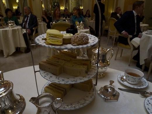 High tea @ the Ritz