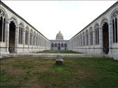 Quiet green space in the centre of Pisa's monumental mausoleum.: by supergg, Views[67]