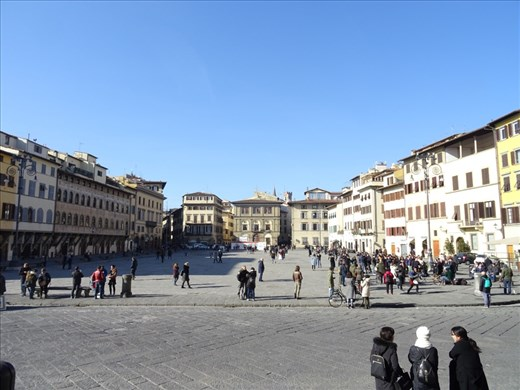 Piazza of Santa Croce