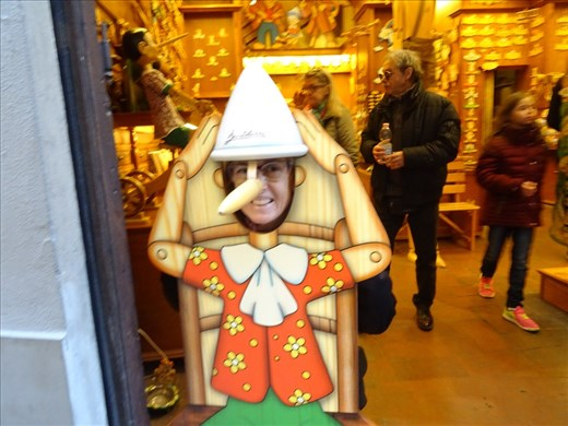 At the Pinocchio shop