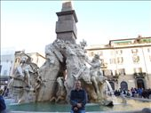 Central fountain in Piazza Navona: by supergg, Views[240]