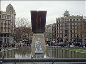 View down La Rambla from Placa de Catalunya: by supergg, Views[125]