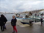 Fishing boat in Marseilles.