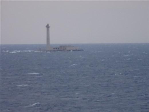 Lighthouse on a rock off Marseille