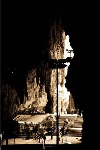 Limestone wonder. A massive limestone cave structure which is a prominent place for Hindu worship. Popularly known as
