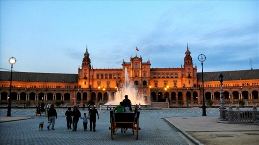 The Spaniards appreciate the little things in life more than I've ever seen in any other cultures. They live in such a beautiful country where so much history was built around. Plaza de Espana was something I walked by everyday, and I always stopped by and just stood there and fell in love everyday.