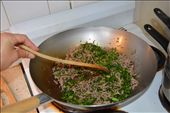 Adding the herbs and other ingredients to the meat: by susieblue, Views[197]