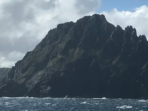 We rounded Cape Horn on our way to Antarctica.