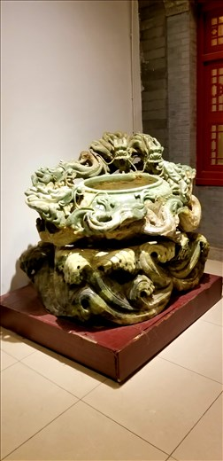While in Beijing, we visited a jade factory. This was their stellar piece. It's actually a pond!