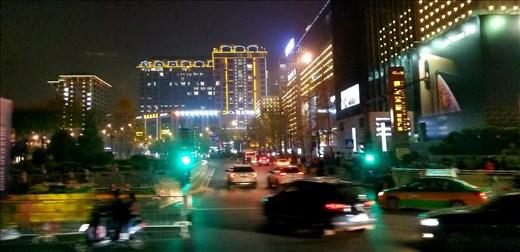 Night time traffic.